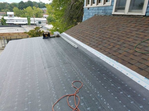 Mod Bit Installed By High Point Flat Roofing Contractor