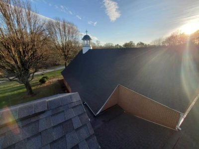Roof Installed By Winston Salem Residential Roofing Company