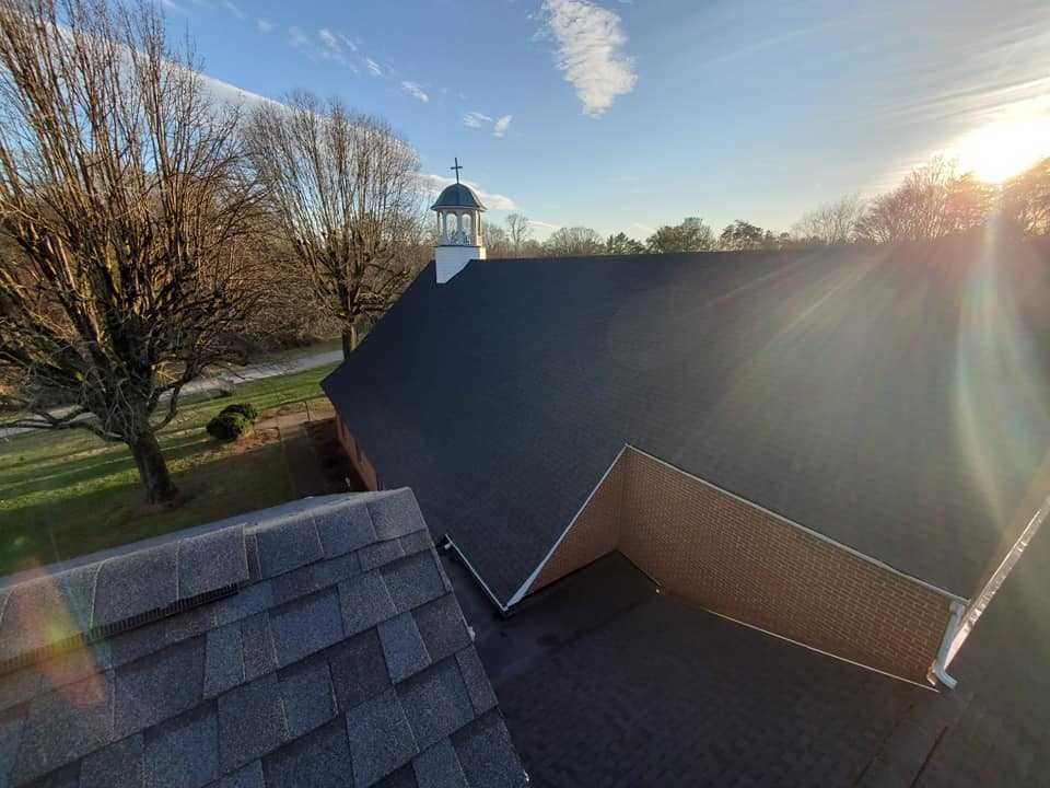 Roof Installed By Winston-Salem NC Roofing Company